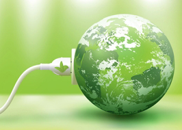 Plugged in Green Earth