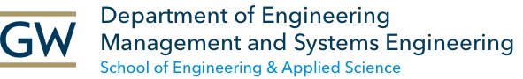 Department of Engineering Management & Systems Engineering in GW's School of Engineering & Applied Science